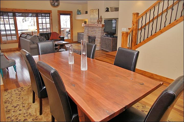 Entertain in the large living area - Waterside Village Downtown Steamboat - Steamboat Springs - rentals