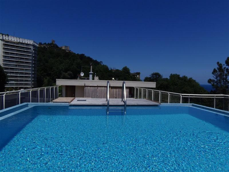 Fabulous private pool at property´s rooftop. Seaviews from here. - MARBIL:: Rooftop pool. Seaviews. Relax 5 p. Beach. - San Sebastian - Donostia - rentals