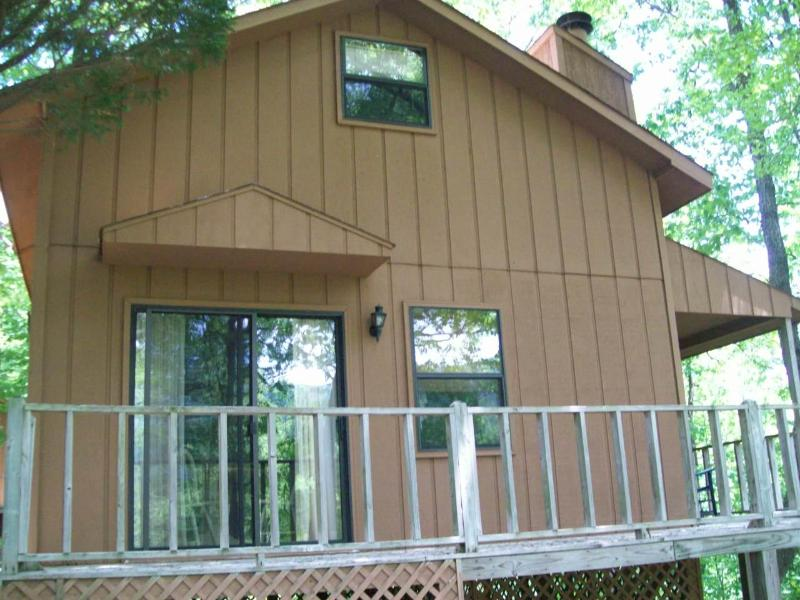 Front - Helton Falls Lodge-Mallard Retreat-walk to falls! - Blairsville - rentals