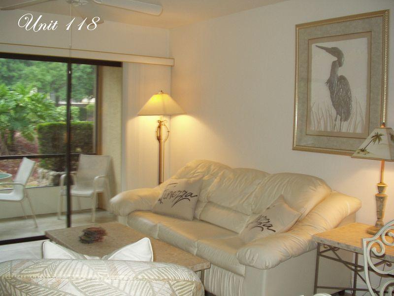 118- Living Room - Park Shore Resort Unit 118 - Naples - rentals