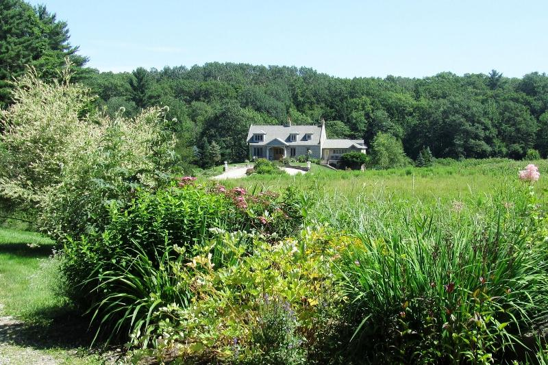 Beauport Inn, view from road entrance. - River View Apartment - Ogunquit - rentals
