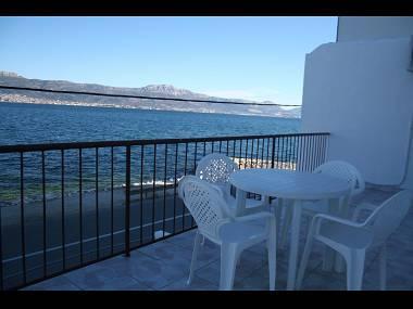 A1(5+1): terrace - 7920  A1(5+1) - Arbanija - Arbanija - rentals