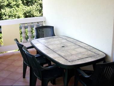 A1 Skrpina(2+2): terrace - 7921  A1 Skrpina(2+2) - Zman - Zman - rentals