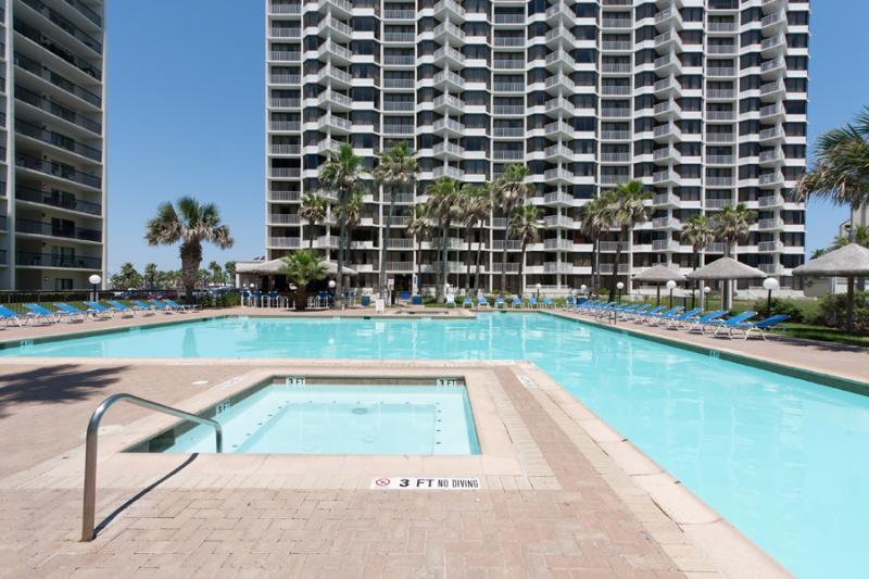 Large pool - 2 Bedroom 2 Bathroom Beach Front Gem! - South Padre Island - rentals