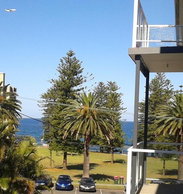 View from balcony - Coquillage Cronulla beach holiday apartment - Cronulla - rentals