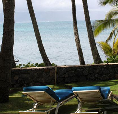 ocean front with beautiful views - Paia Bay House, ocean front, License STPH2013/0013 - Paia - rentals