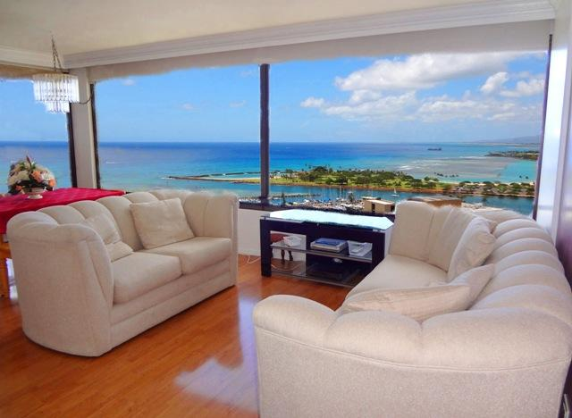 Penthouse Amazing Oceanview Condo - Image 1 - Honolulu - rentals