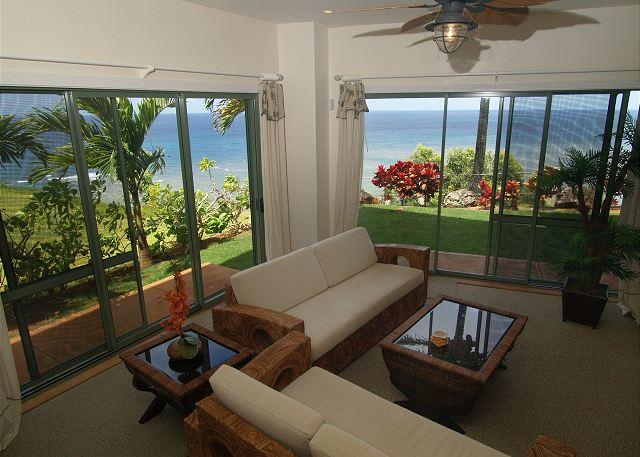 Oceanfront with Ocean Views - Image 1 - Princeville - rentals