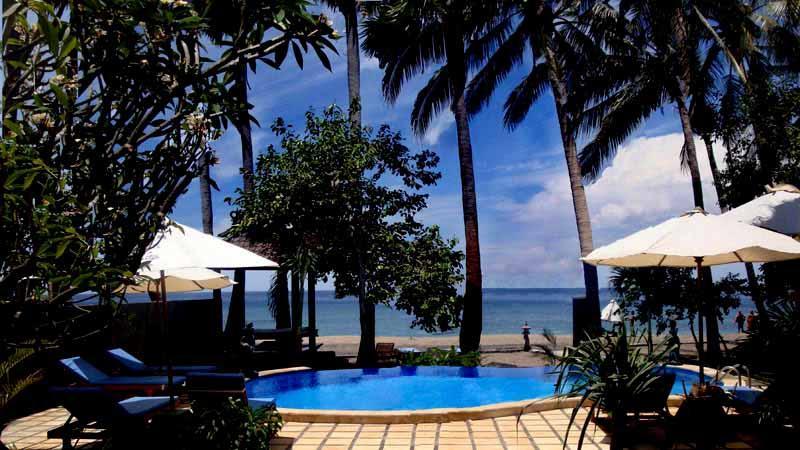 Swimming pool - Bali Bhuana Beach - Karangasem - rentals