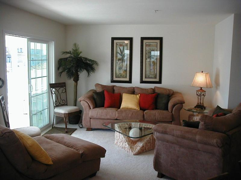 Spacious Living Room - PRICE REDUCED Caribean Style Condo NWW 3BR 2BA - North Wildwood - rentals