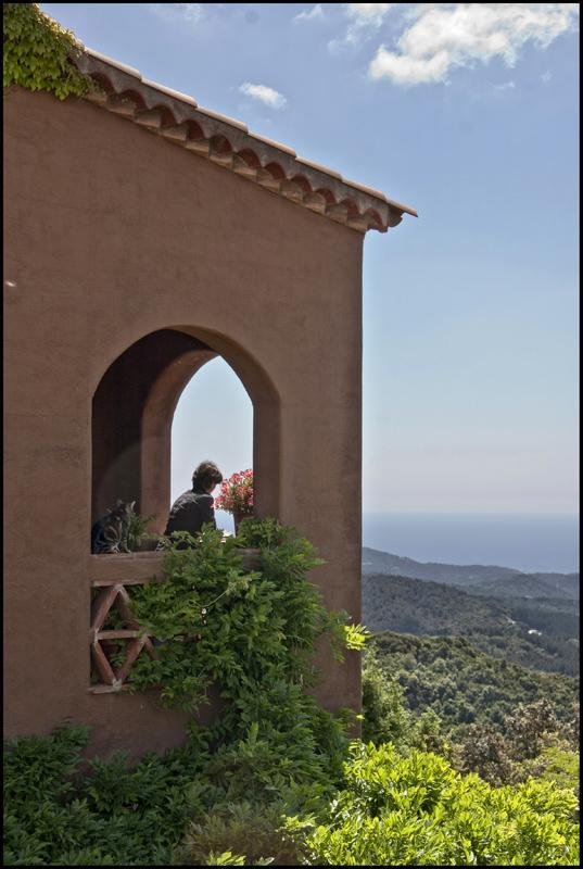 Sea views from the terrace - In the mountains, with fantastic sea views - Vallgorguina - rentals