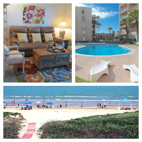 Awesome Beach Front Views - La Sirena (The Mermaid) AT Beach House Condos - South Padre Island - rentals