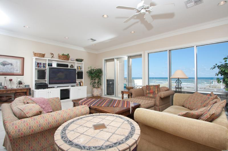 Casa Cabo San Lucas Ocean Front Living Area - The Crown Jewel of Beach Front 4 Bedroom Homes - Port Isabel - rentals