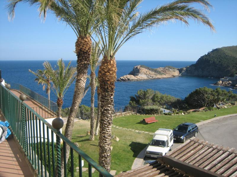 Terrace with sea view - Beatifull apartment overlooking the sea - Begur - rentals
