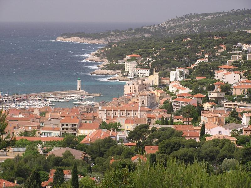 View from the Balcony - First Class Condo Gorgeous Ocean View in Provence - Cassis - rentals