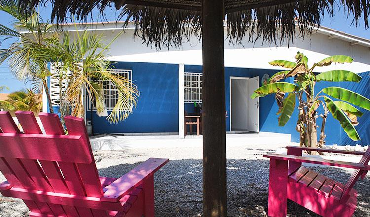 Garden and Porch - Welcome2bonaire rental apartments - Apartment B - Kralendijk - rentals