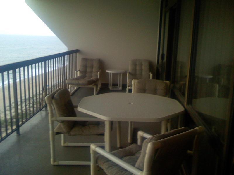 Ocean Front Balcony - Luxury Ocean Front Carousel 2 bed, 2 bath condo - Ocean City - rentals