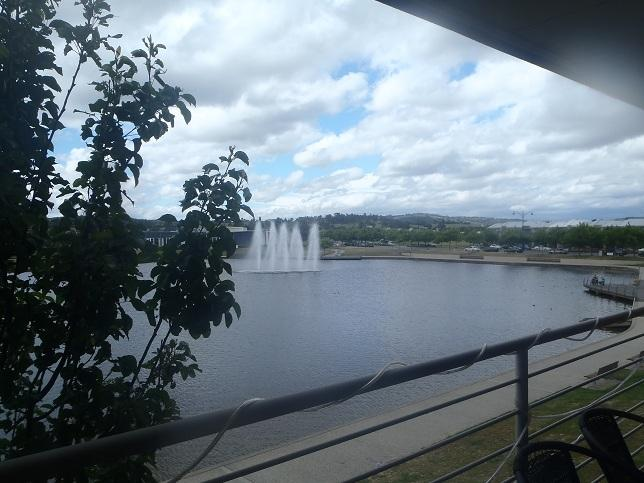 fountain view upper balcony - The Entrance on the Lake - Pakenham - rentals