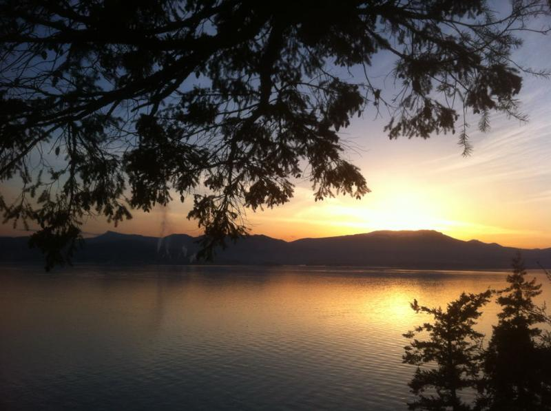 beautiful sunsets - Bent Tree Waterfront Cottage - Salt Spring Island - rentals