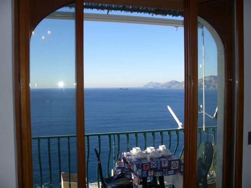 Casa Praiano Villa with view Amalfi coast, walk to town villa in Praiano - Image 1 - Praiano - rentals