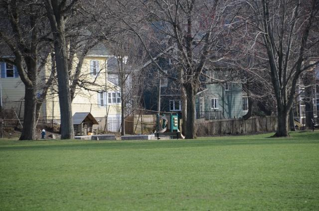 Local Park - play structures - Summer in Boston! Great house, neighborhood, and location! Reduced Price!! - Boston - rentals