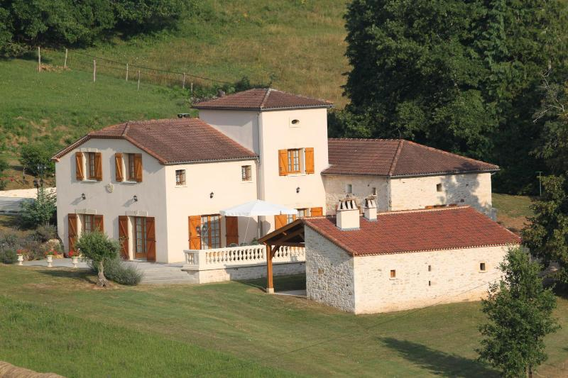 the house - Holiday House 10 People Private Swimming Pool - Cambounet-Sur-le-Sor - rentals