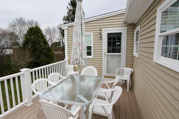 Deck - 62 Knott Ave - Sandwich - rentals