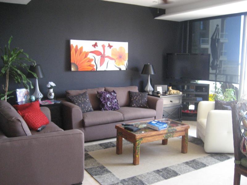 Living Room - Cosmo, Executive Ocean Front,Bahias de Huatulco - Santa Cruz Huatulco - rentals