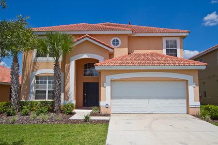 villa front - Resort Villa-6BR-5Masters-GameRm-Wifi-10min Disney - Orlando - rentals