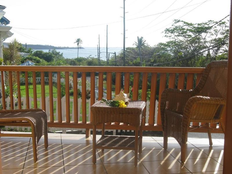 Balcony and relaxing - Roydons Apartments Grenada 2 Bedroom Apartments - Grand Anse - rentals