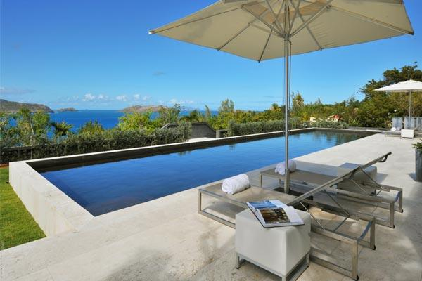 Ultra modern villa, sweeping sunset views in the heart of Pointe Milou. WV LPS - Image 1 - Pointe Milou - rentals