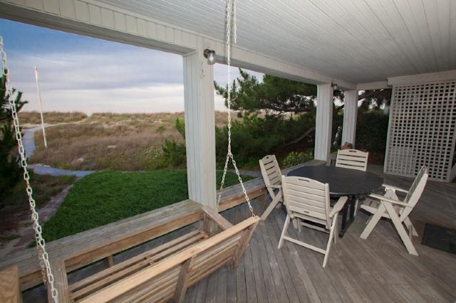 Deck - 6506 A Oceanfront - Virginia Beach - rentals