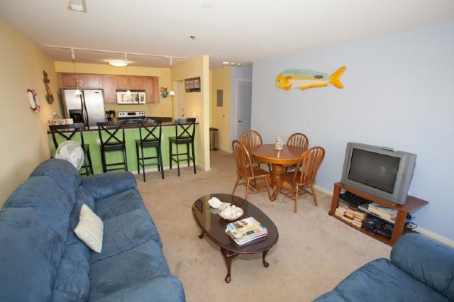 Living Area - Playa Rana unit #204 - Virginia Beach - rentals