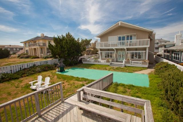 Rear Exterior - 5206 Oceanfront - Virginia Beach - rentals