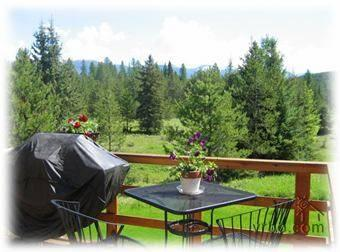 Deck - Cosy Cottage Apartment - Whitefish - rentals
