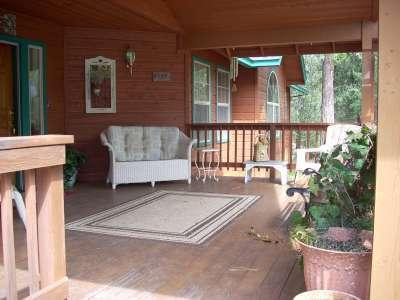 "Front Porch - ""Click Your Heels, Theres No Place Like Home"" - Sonora - rentals"