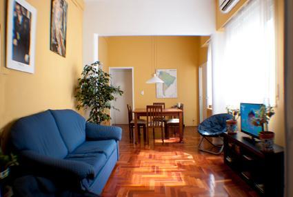 Main room, Living room Area - Quiet Art Deco Apartment in Recoleta - Buenos Aires - rentals