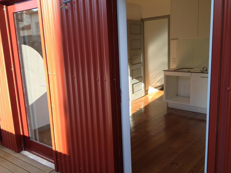 Terrace - Apartment T1k in Oporto Downtown - Porto - rentals
