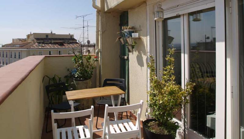 TERRAZA - 1 Bedroom apartment Atico Sol with terrace - Madrid - rentals