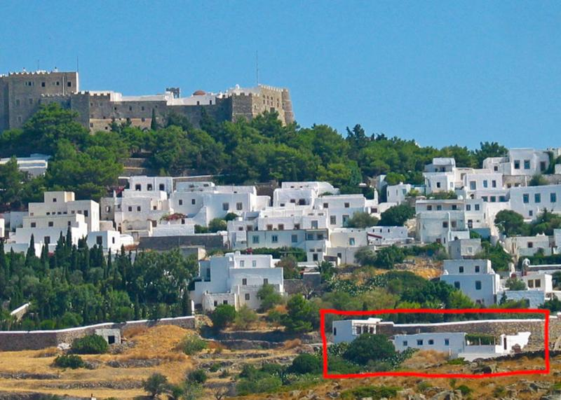 Overview of Soultana House and Kalikatsou Studio in Chora - Patmos - Soultana House with Kalikatsou Studio - Patmos - rentals