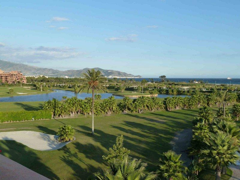 view from terrace - luxury apt overlooking the med and golf course - Motril - rentals