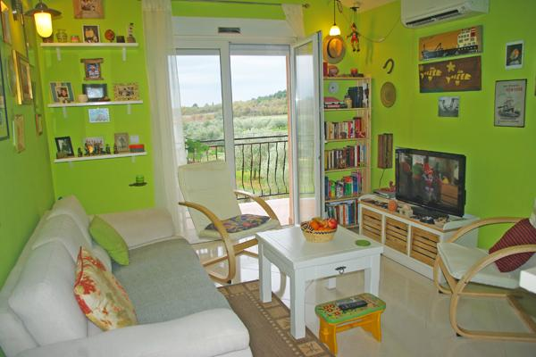 Living room - Lovely apartment near Porec - Porec - rentals