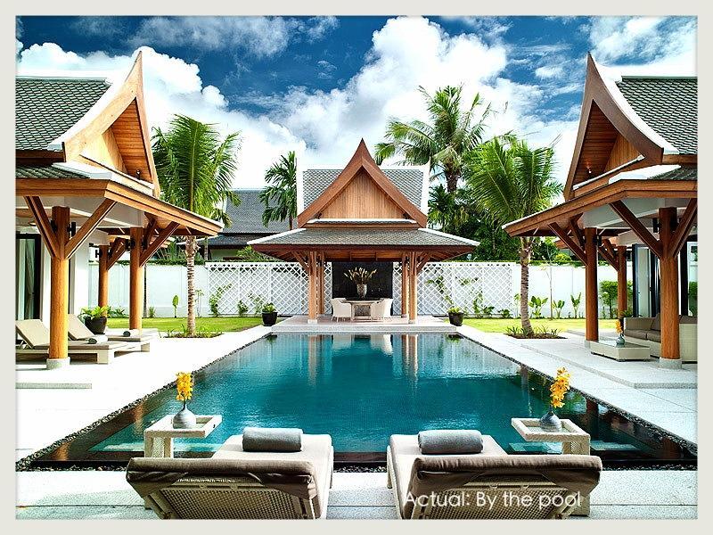 The Pool (12x5m - max. depth 2.2m), Sala, Bedroom Pavilions - Banyan Phuket Villa/ Boutique, Private pool, Beach, Staff, MECHANIC RESURRECTION - Bang Tao Beach - rentals