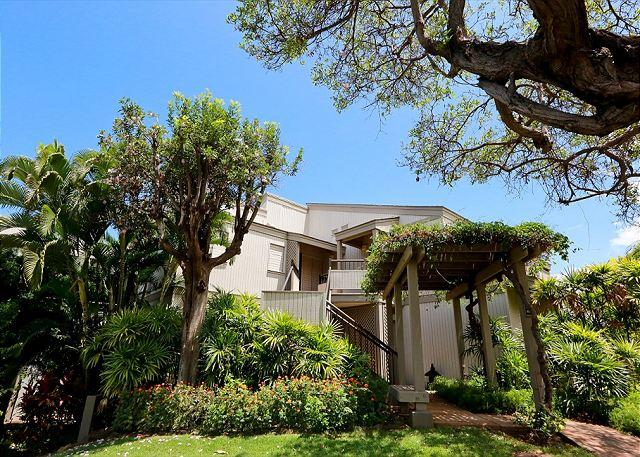 Front Entrance of Wailea Ekolu #804 - Wailea Ekolu #804 Best Panoramic Ocean View 1Bd 2Ba  Private location! - Wailea - rentals