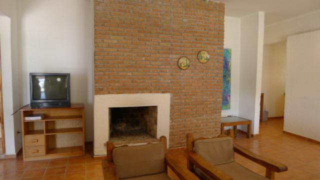 Living Room with fireplace - Fully furnished house in first class guarded residential community - Saltillo - rentals