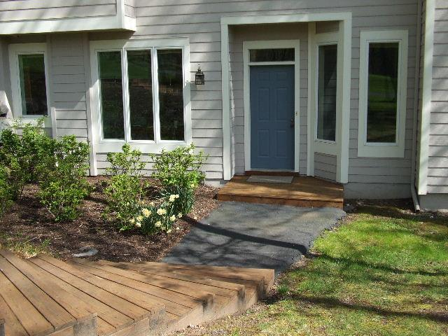 Front Entry Door View - Woodloch Springs Townhome: Income Property Avail - Hawley - rentals