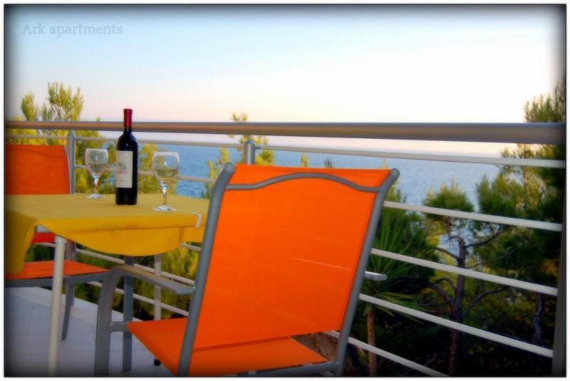Ark 4* panoramic sea view suite 1/4, Squirrel - Image 1 - Stobrec - rentals