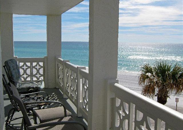 Actual balcony view - NEWLY RENOVATED 2015!!!!!! - Fort Walton Beach - rentals