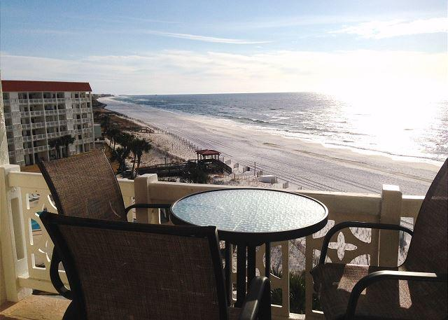 Actual Balcony View - Unbelievable Views - Gulf Front, Corner Penthouse Unit. NO SOFA SLEEPER - Fort Walton Beach - rentals