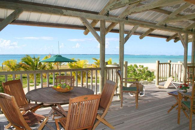 Terrace - Villa Alizée, on the most beautiful beach of MRU - Pointe d'Esny - rentals